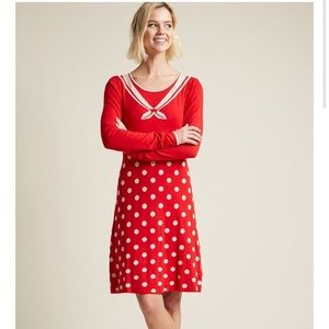 ModCloth Blutsgeschwister Sailor sweater Sheath